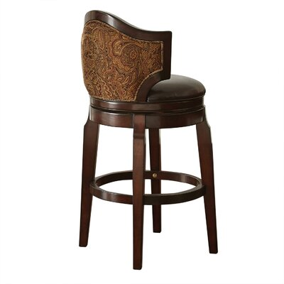 Dupo 30 inch Swivel Bar Stool (Set of 2)