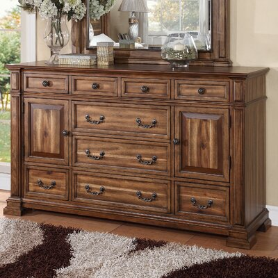 Legrand 9 Drawer Combo Dresser