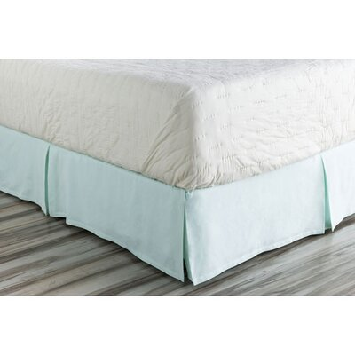 Donaghy Bed Skirt Size: Twin, Color: Blue