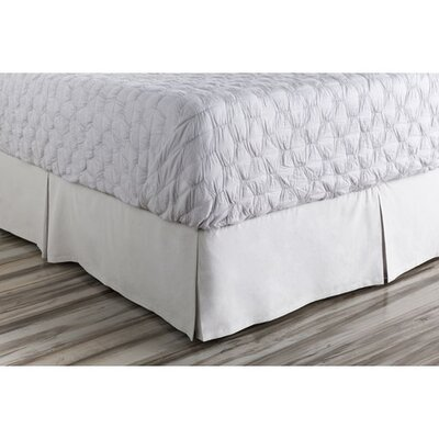 Donaghy Bed Skirt Size: Twin, Color: Gray