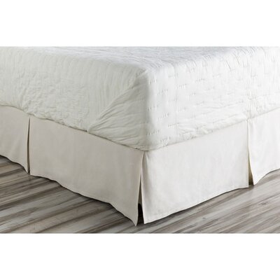 Donaghy Bed Skirt Size: Twin, Color: Neutral