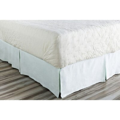 Ipava Bed Skirt Size: Full, Color: Blue