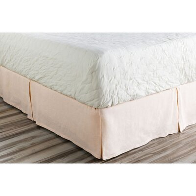 Ipava Bed Skirt Size: King, Color: Pink