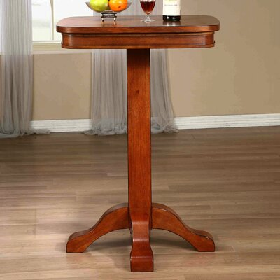 Cogdell Pub Table Color: Vintage Oak