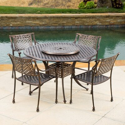 York Dining Set Size  - Product photo
