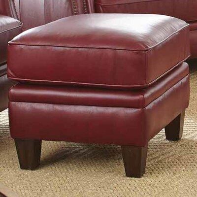 Dalton Leather Ottoman
