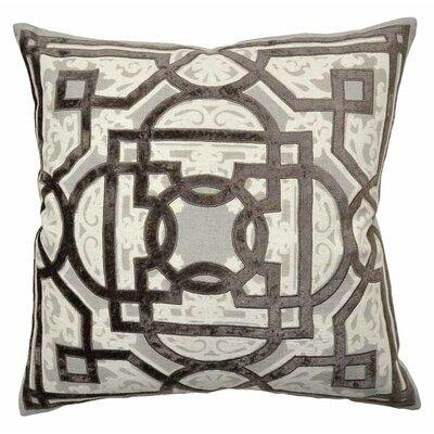 Indianola Linen Throw Pillow Color: Natural