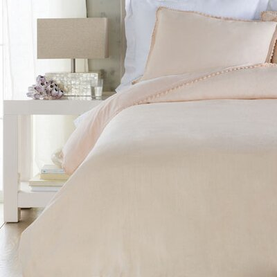 Ipava Duvet Cover Size: Full / Queen, Color: Pink