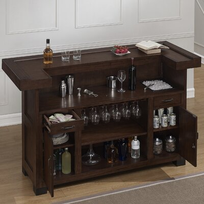 Gasper Bar with Wine Storage