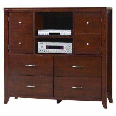 Bridgton 4 Drawer Media Chest