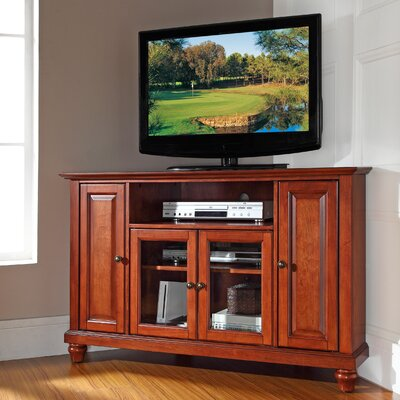 Merilee 48 Corner TV Stand Finish: Classic Cherry