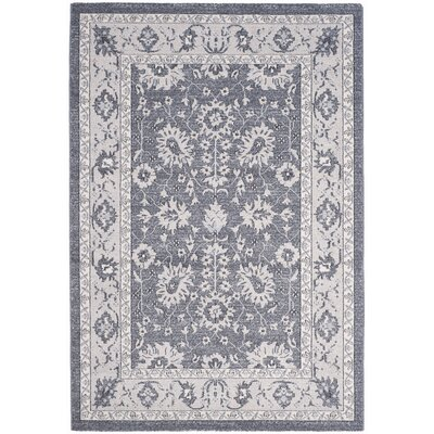Carmel Dark Gray/Beige Area Rug