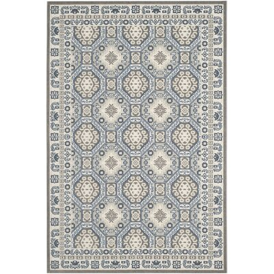 Harwood Gray Area Rug Rug Size: 4 x 6
