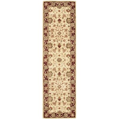 Heritage Ivory/Red Area Rug