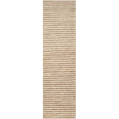 Natural Fiber Area Rug Rug Size: Runner 23 x 8