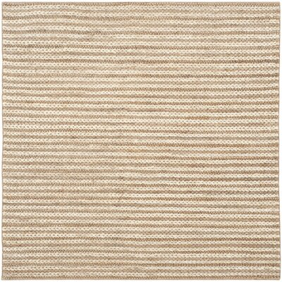 Hand-Woven Area Rug Rug Size: Square 6