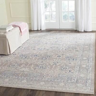 Patina Taupe/Beige Taupe Area Rug