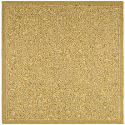 Cambridge Hand-Tufted Light Gold/Dark Area Rug