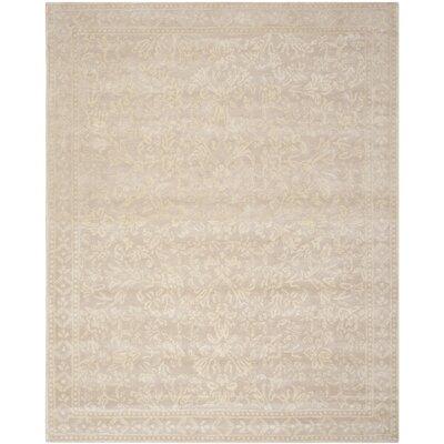 Martha Stewart Beige/Ivory Area Rug Rug Size: 8 x 10