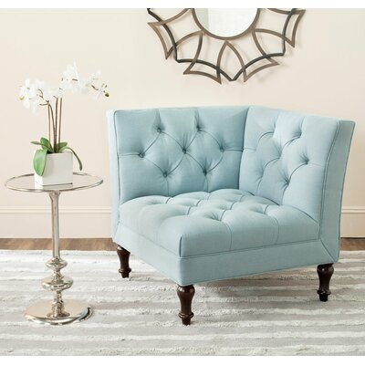 Mercer Jack Armchair Upholstery: Sky Blue