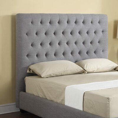 Plath Upholstered Panel Headboard Size: King