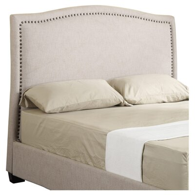 Voight Upholstered Panel Headboard Size: Queen