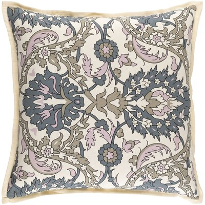 Coeur Down Throw Pillow Size: 22 H x 22 W x 4 D, Color: Pastel Pink/Olive/Moss/Black/Ivory