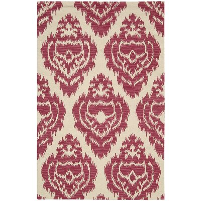 Boston Area Rug Rug Size: 36 x 56