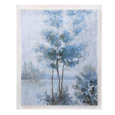 Frost Awakening Framed Painting Print