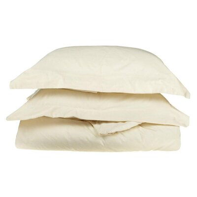 Amherst Pillow Case Size: Queen, Color: Ivory