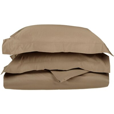 Amherst Pillow Case Size: Queen, Color: Taupe
