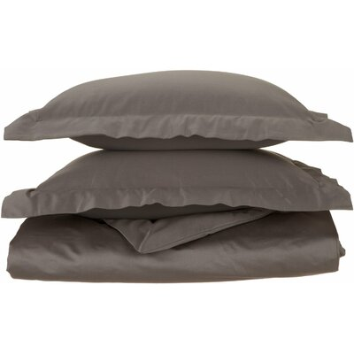 Amherst Pillow Case Color: Charcoal, Size: Full