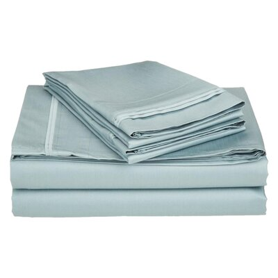 Superior 1200 Thread Count 100% Cotton Sheet Set Size: Queen, Color: Teal