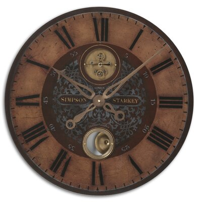 Hughes 23 Weathered Wall Clock