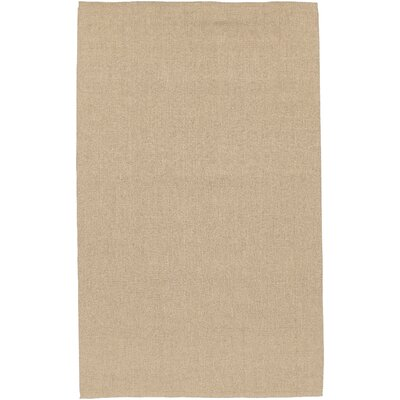Jute Hand-Woven Tan Area Rug Rug Size: Rectangle 2 x 3