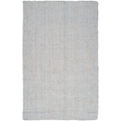 Light Hand-Woven Gray Area Rug Rug Size: Rectangle 12 x 14