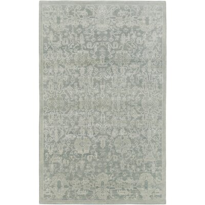 Chebanse Hand-Knotted Moss/Beige Area Rug Rug Size: Rectangle 8 x 10