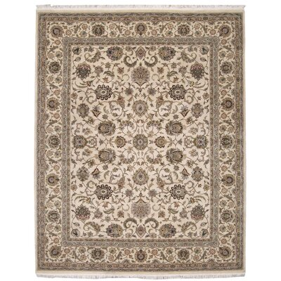 Beason Hand-Woven Beige Area Rug Rug Size: Rectangle 86 x 116