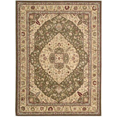 Saffira Green Area Rug