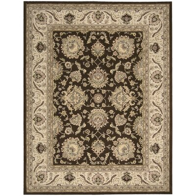 Media Hand-Tufted Brown Area Rug Rug Size: Rectangle 5 x 8