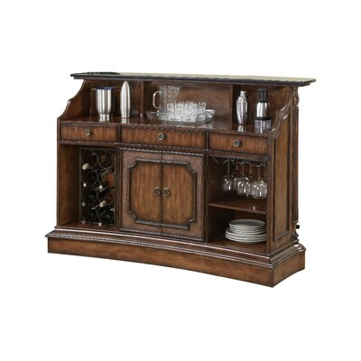 Ansel Bar with Wine Storage