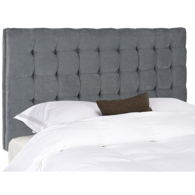 Lyttleburye Upholstered Panel Headboard Size: Queen, Upholstery: Gray
