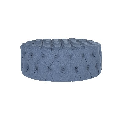 Wyard Cocktail Ottoman Upholstery: Navy