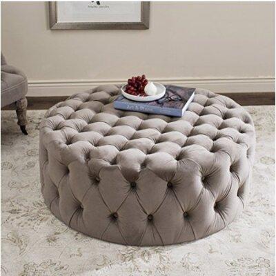 Wyard Cocktail Ottoman Upholstery: Mushroom
