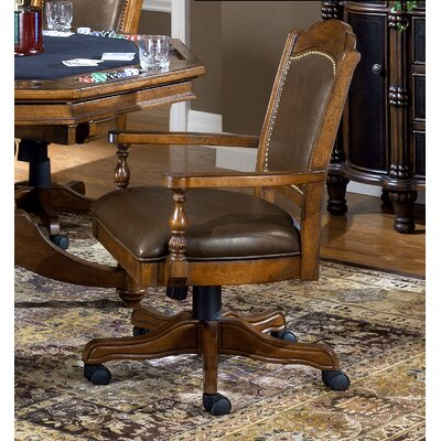 Rockford Genuine Leather Upholstered Dining Chair