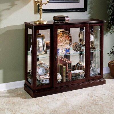 Purvoche Console Curio Cabinet Finish: Ridgewood Cherry