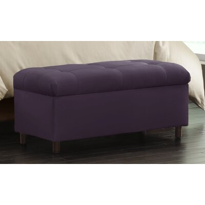 Storage Ottoman Color: Purple