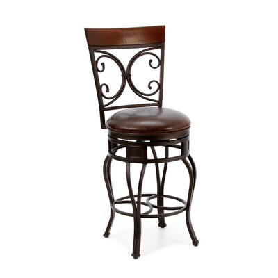 Matherville 26 Swivel Bar Stool