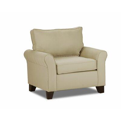 Adelina Armchair Upholstery: Khaki