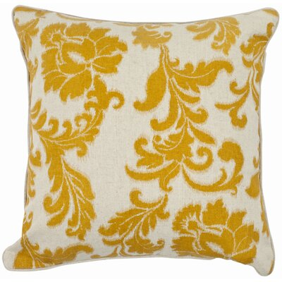 Easterwood 100% Cotton Throw Pillow Color: Golden Apricot, Size: 22 H x 22 W
